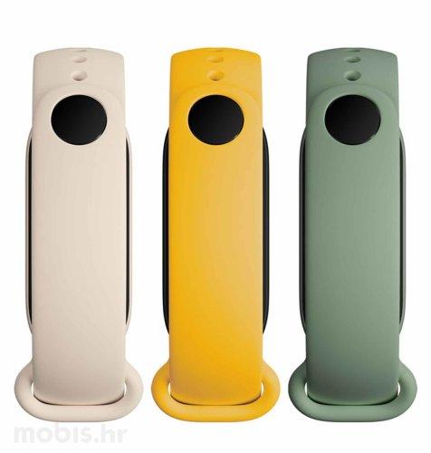 Xiaomi Mi Smart Band 6 Strap (3-Pack): bijela/zelena/žuta
