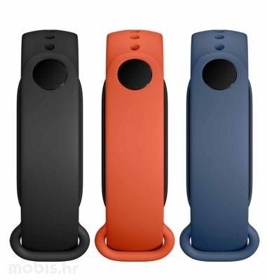 Xiaomi Mi Smart Band 6 Strap (3-Pack): crna/narančasta/plava