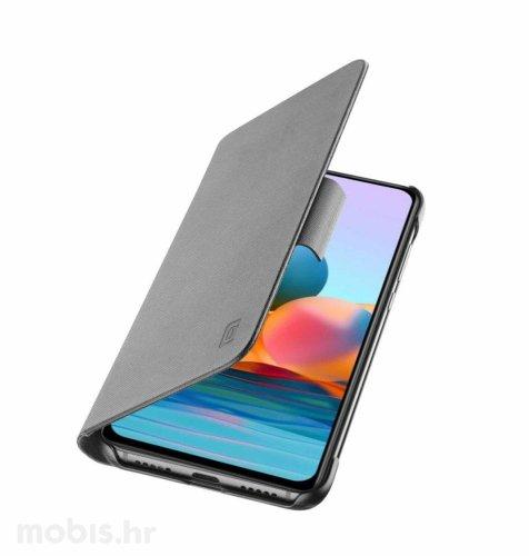 Cellularline preklopna zaštita za Xiaomi Redmi Note 10: siva