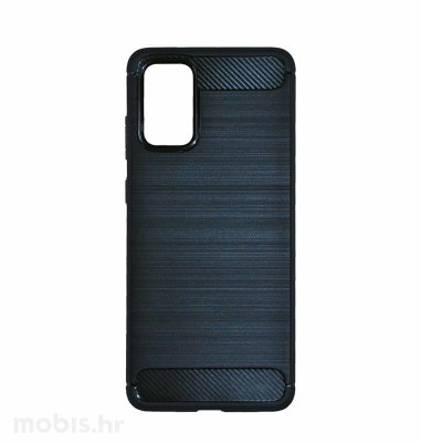 MaxMobile Carbon Fiber plastična maska za Samsung Galaxy A03s: crna