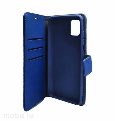 MaxMobile Elegant Wallet preklopna maska za Samsung Galaxy A03s: plava