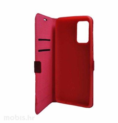 MaxMobile Slim preklopna maska za Samsung Galaxy A03s: crvena