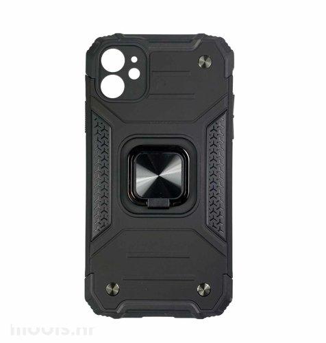 MaxMobile Anti-Shock With Ring II plastična maska za Samsung Galaxy A03s: crna