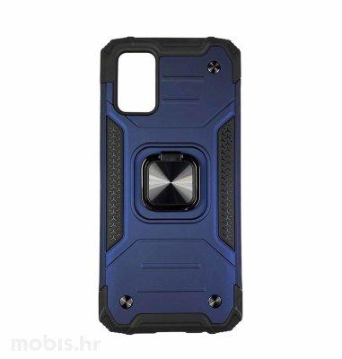 MaxMobile Anti-Shock With Ring II plastična maska za Samsung Galaxy A03s: plava