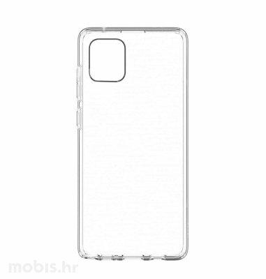 MaxMobile Ultra Slim plastična maska za Samsung Galaxy A02s: prozirna
