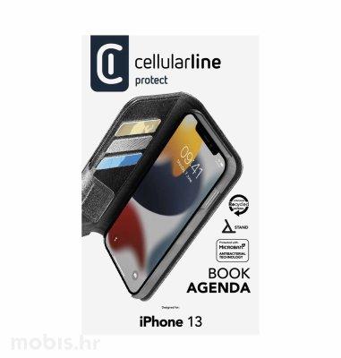 Cellularline preklopna zaštita za iPhone 13: crna