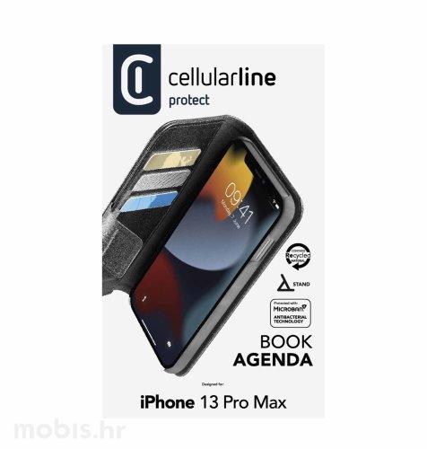 Cellularline preklopna zaštita za iPhone 13 Pro Max: crna
