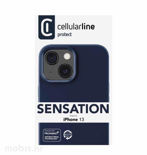 Cellularline plastična zaštita za iPhone 13: plava