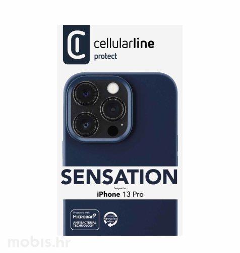 Cellularline plastična zaštita za iPhone 13 Pro: plava