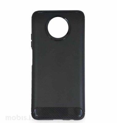 MaxMobile Carbon Fiber II plastična maska za Xiaomi Redmi Note 9T: crna