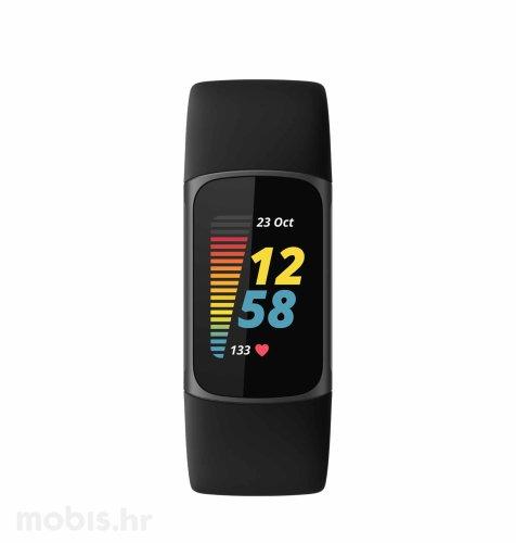 Fitbit Charge 5 pametna narukvica: grafitno crna