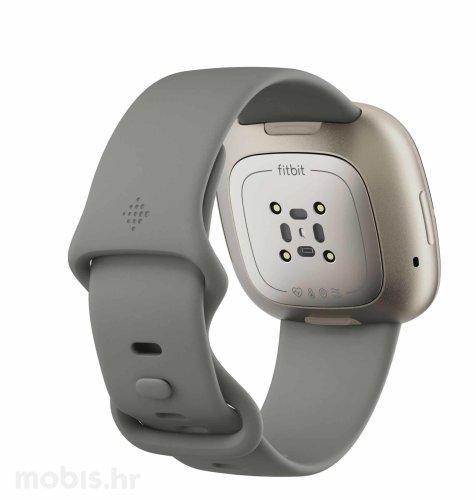 Fitbit Sense pametni sat: zeleno-sivi