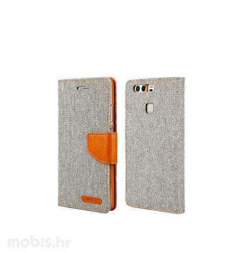 "Preklopna maska ""Fancy"" za Huawei P9: sivi"