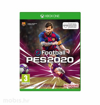 eFootball PES 2020 igra za Xbox One