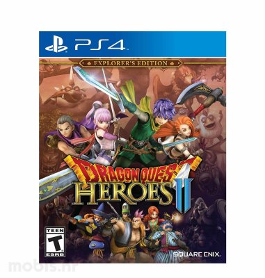 Dragon Quest Heroes 2 Explorer's Edition igra za PS4