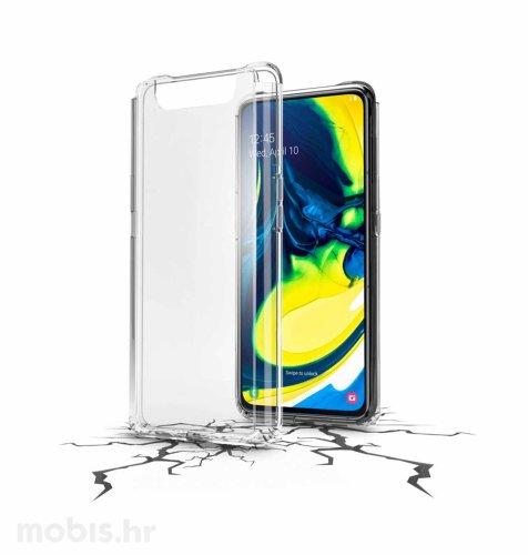 Cellular line plastična zaštita za uređaj Samsung Galaxy A80 2019: prozirna
