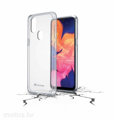 Cellularline plastična zaštita za uređaj Samsung Galaxy A20E: prozirna
