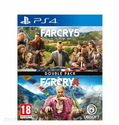 Far Cry 4 & Far Cry 5 Compilation igra za PS4