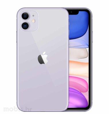 Apple iPhone 11 128GB: ljubičasti