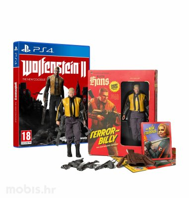 "Wolfenstein 2 ""The New Colossus"" Collectors's Edition igra za PS4"