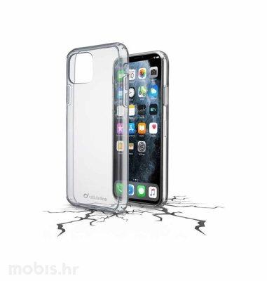 Cellular line plastična zaštita za uređaj Apple iPhone 11 Pro Max: prozirna