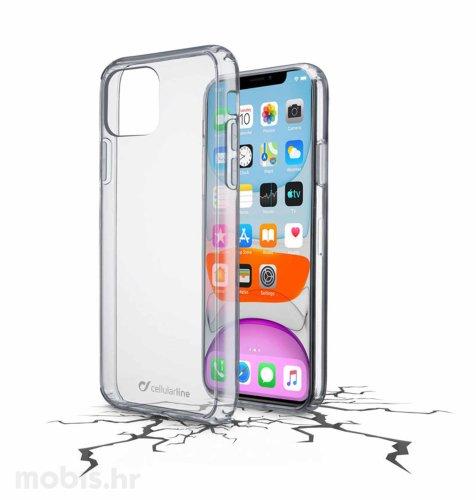 Cellular line plastična zaštita za uređaj Apple iPhone 11: prozirna