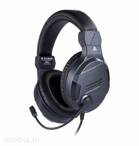 BigBen Stereo Gaming Slušalice V3 za PS4: titanium