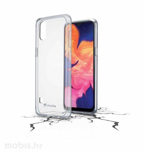 Cellular line plastična zaštita za uređaj Samsung Galaxy A10 2019: prozirna