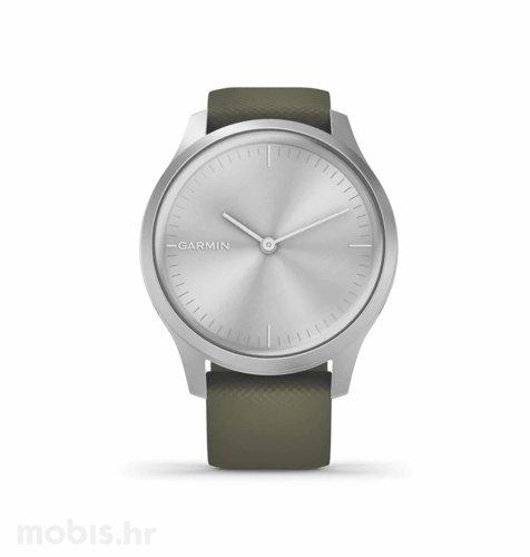Garmin Vivomove Style: srebrni (zeleni remen)