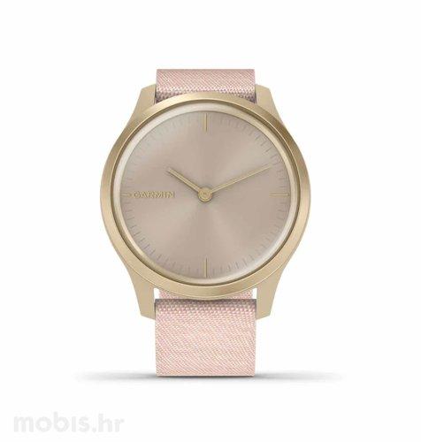Garmin Vivomove Style: zlatni (rozi remen)