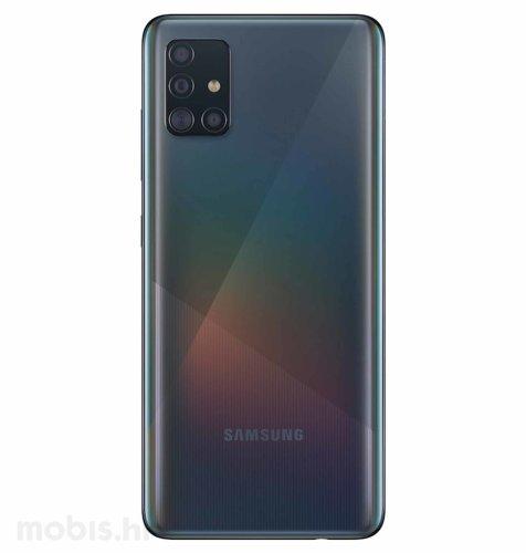 Samsung Galaxy A51 4GB/128GB Dual SIM: crni