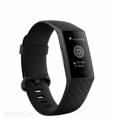 Fitbit Charge 4: crna