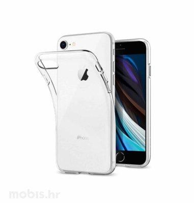 JCM silikonska maskica za iPhone SE2: prozirna