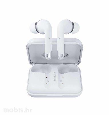 Happy Plugs Air1 Plus In-Ear bežične slušalice: bijele