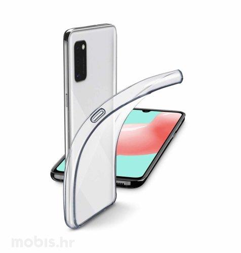 Cellularline silikonska zaštita za uređaj Samsung A41: prozirna