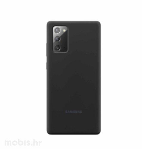 Silikonska maska za Samsung Galaxy Note20: mistično crna