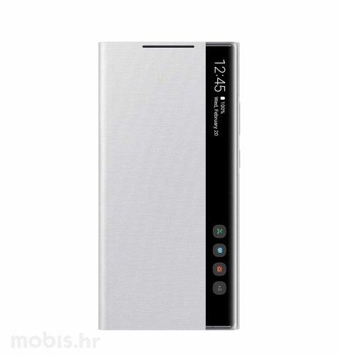 Zaštitna preklopna maska za Samsung Galaxy Note20 Ultra: mistično bijela