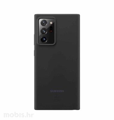 Silikonska maska za Samsung Galaxy Note20 Ultra: mistično crna