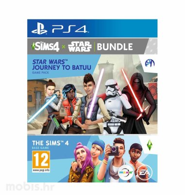 The Sims 4 Game Pack 9: Star Wars - Journey to Batuu igra za PS4