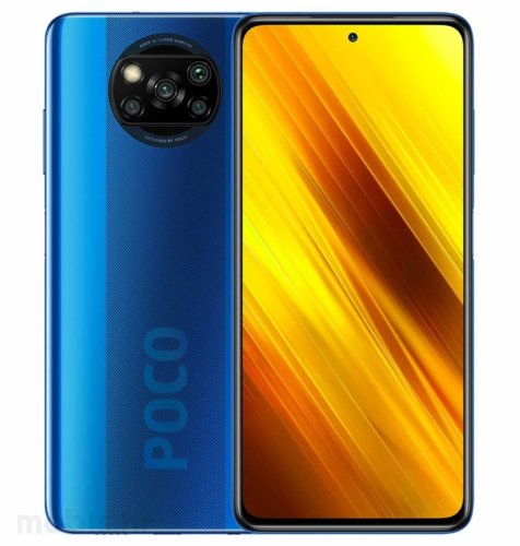 POCO X3 NFC 6GB/128GB: plavi
