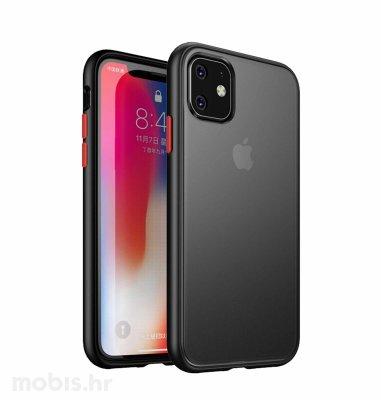 Max Mobile zaštita za iPhone 11 Pro: crna s crvenim tipkama