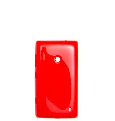 Mozo plastična maska Lumia 520: crvena