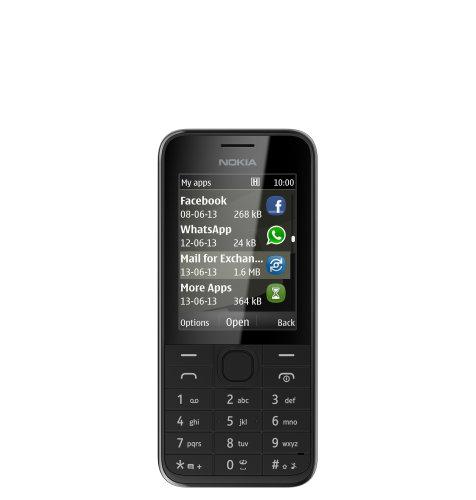 Nokia 220 Dual SIM: crni
