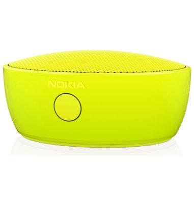 Nokia MD-12 prijenosni bežićni zvučnik: žuta