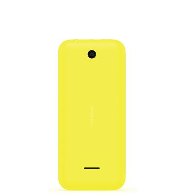 Nokia 225 Dual SIM: žuta