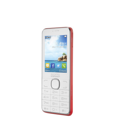 Alcatel 2007 Dual SIM: crvena