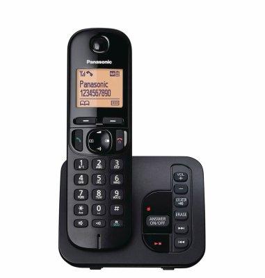 Panasonic dect KX-TG C 220FXB: crni (tamni)