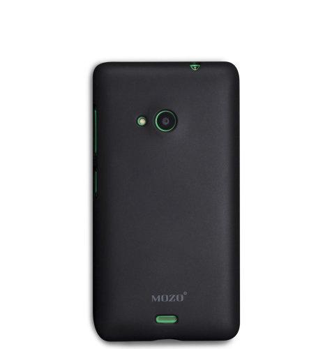 Mozo plastična maska Lumia 535: crna