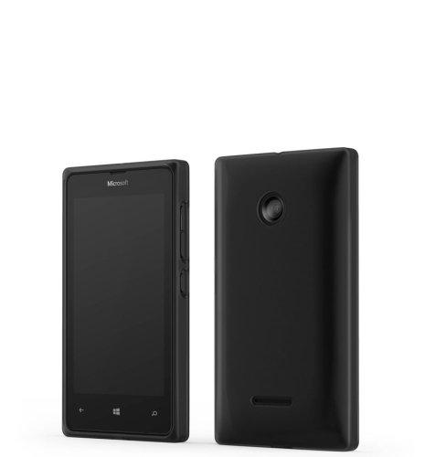 Mozo plastična maska Lumia 532 crna