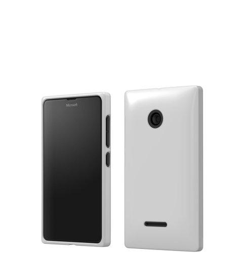 Mozo plastična maska Lumia 532 bijela